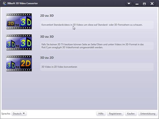 2d in 3d, 3d video converter