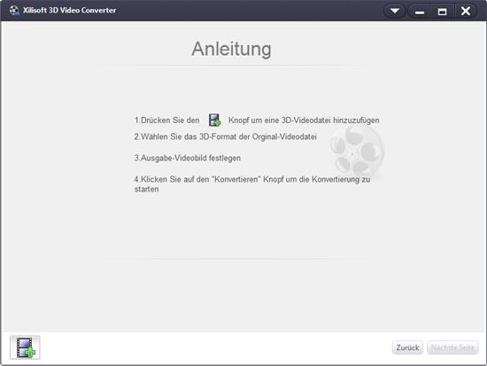 Xilisoft 3D Video Converter, 3D in 2D umwandeln
