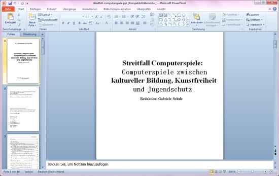convert powerpoint slide to pdf