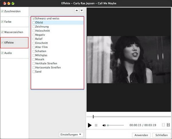 Video- und Audioformate umwandeln unter Mac