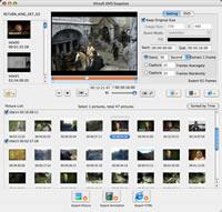 Xilisoft DVD Snapshot for Mac - Mac DVD in Bilder rippen